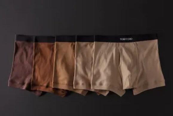 La ropa interior de Tom Ford hace más divertido el desnudarse
