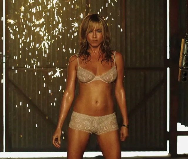 Gqa We Ask The Director Of Were The Millers About Anistons Stripper Scene
