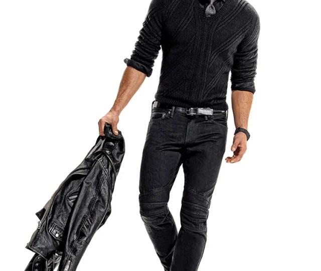 Killer Ways To Wear A Black Dress Shirt Without Looking Slick Photos Gq