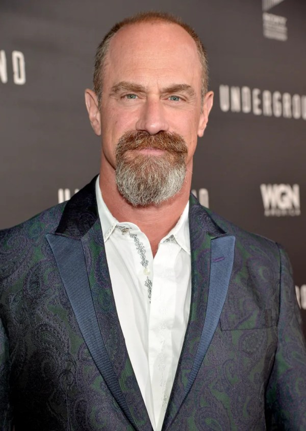 Christopher Meloni's Glorious Goatee Will Hypnotize You | GQ