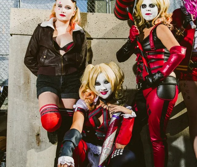 Harley Quinns Were Everywhere At New York Comic Con 2016