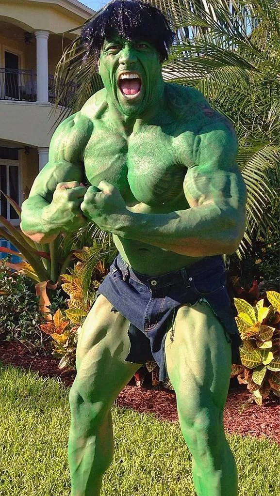 The Rock (as The Hulk), 2012