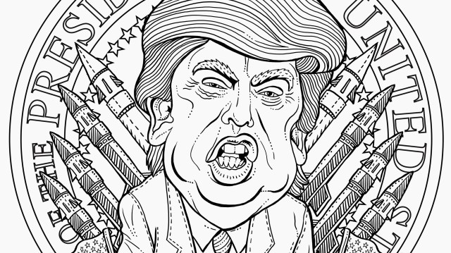 The Most Terrifying Adult Coloring Book Page Imagineable  GQ