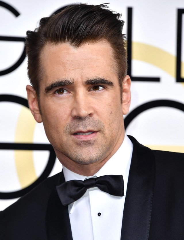 the key to colin farrell's excellent fade haircut, according