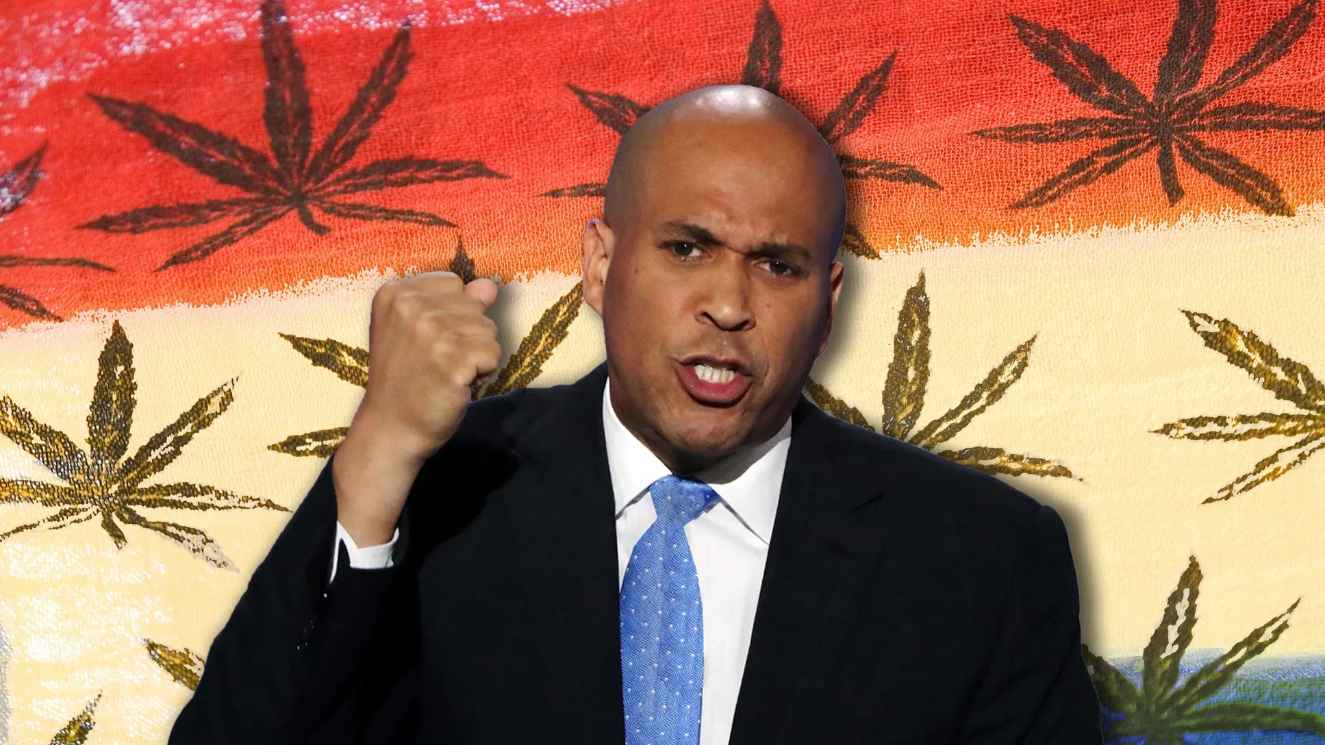 Cory Booker Basically Became President Today Hits Bong GQ