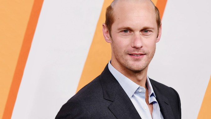 alexander skarsgard's new haircut is an insult to bald men | gq