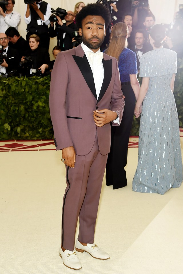 Image result for donald glover 2018met gala pictures