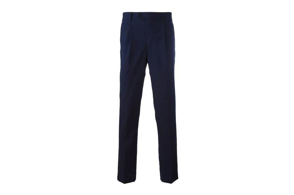 MP Massimo Pimobo navy trousers
