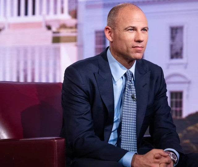 Michael Avenatti Lawyer Of Adultfilm Actress Stormy Daniels Listens During A Bloomberg Television Interview In New