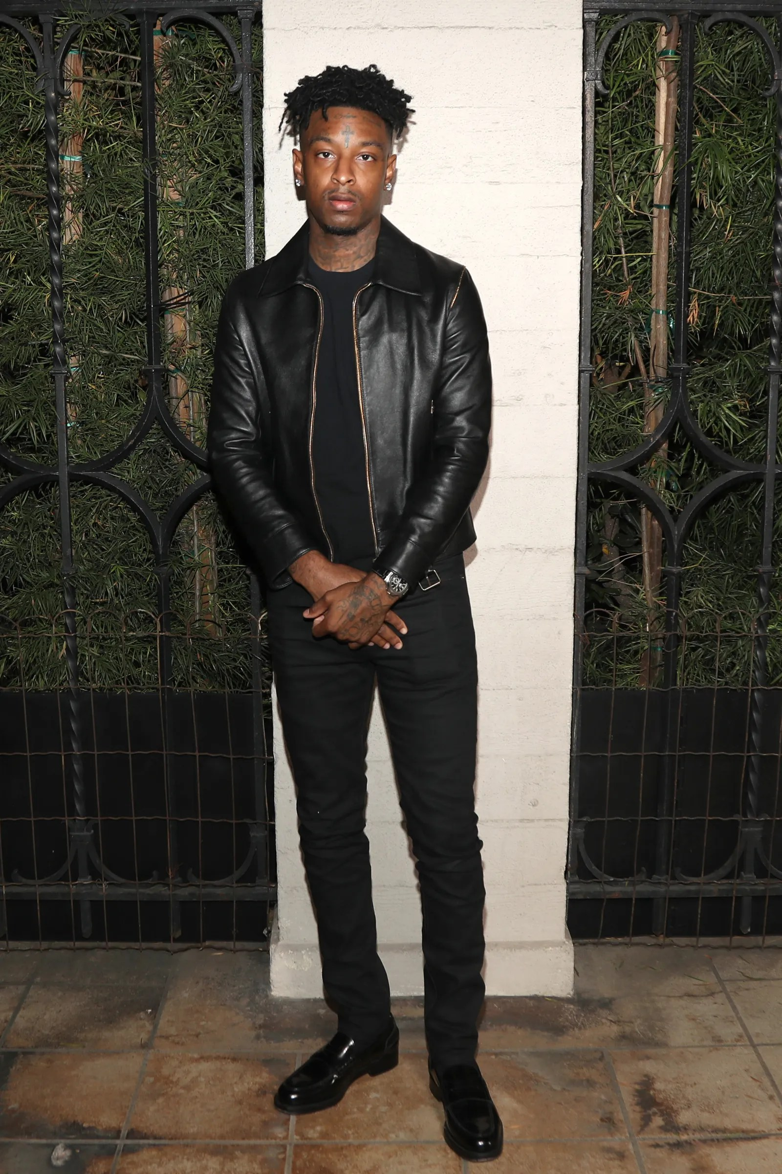 LOS ANGELES CALIFORNIA OCTOBER 03 21 Savage attends NILC Courageous Luminaires Awards Honoring 21 Savage on October 03...