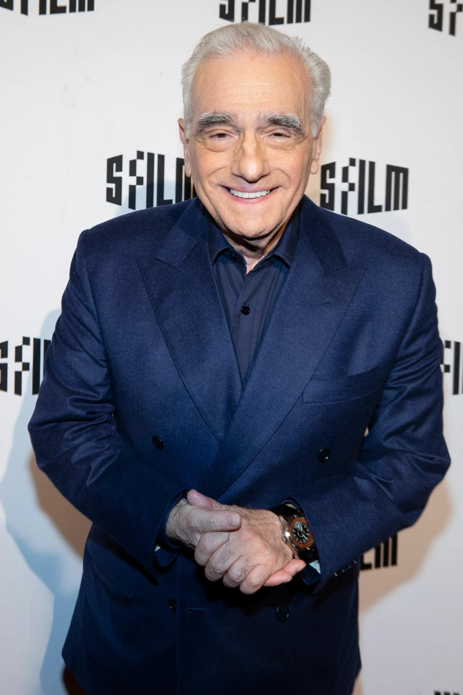 SAN FRANCISCO CA NOVEMBER 05 Martin Scorsese attends the SFFILM premiere of The Irishman at the Castro Theatre on...