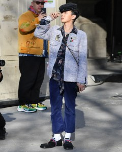 g dragon has the most iced out loafers in paris gq