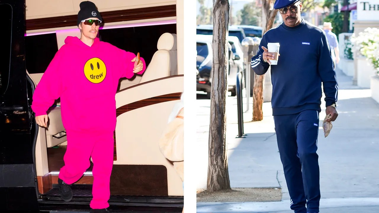 Photo of The Celebrity Guide to the WFH Sweatsuit