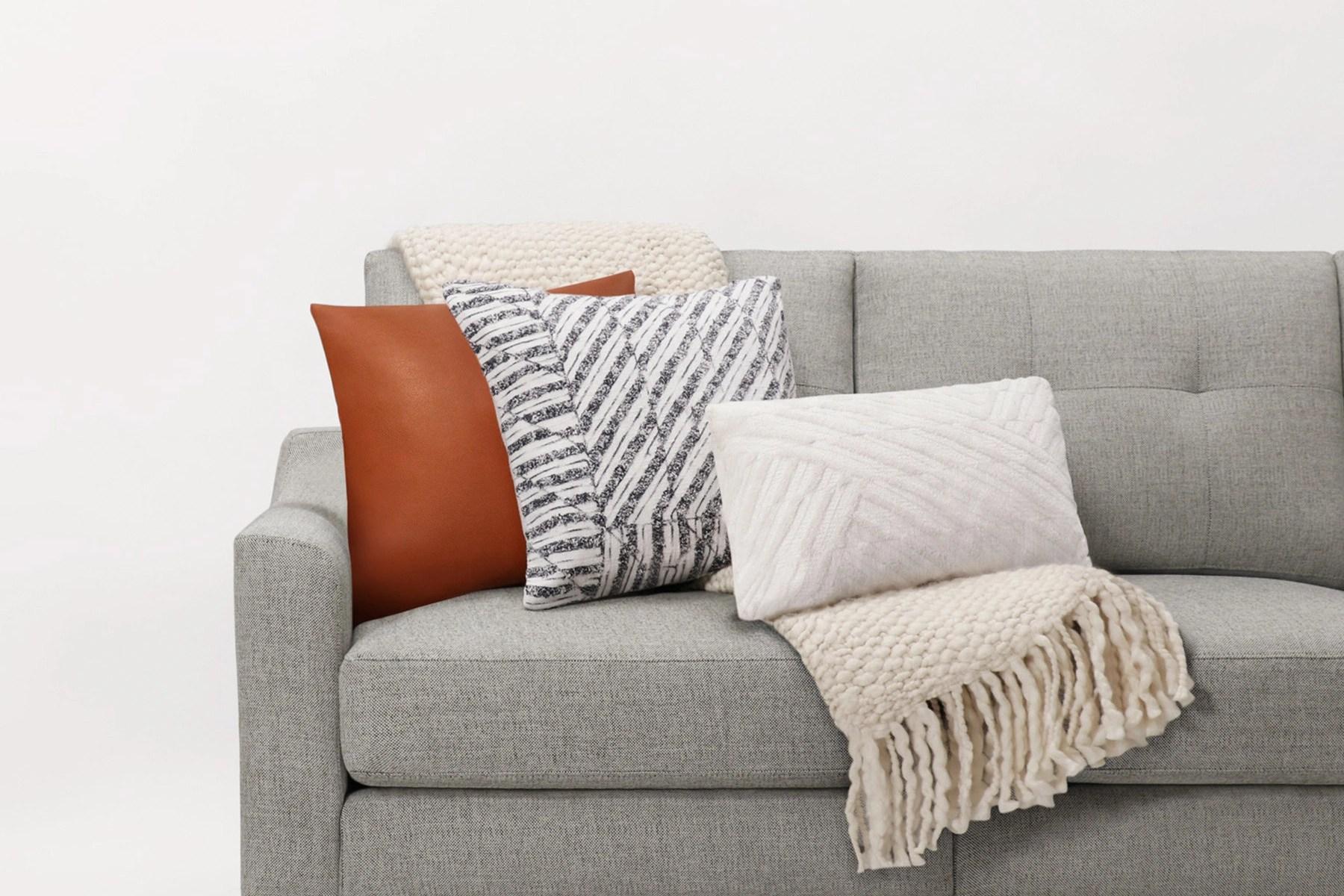 burrow pillow throw blanket bundles