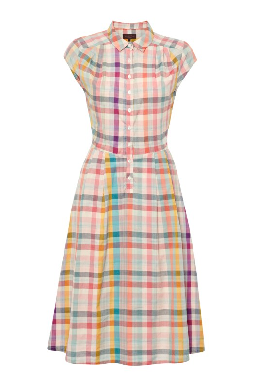 Jenna Checked Shirt Dress £40 (was £50) from Great Plains