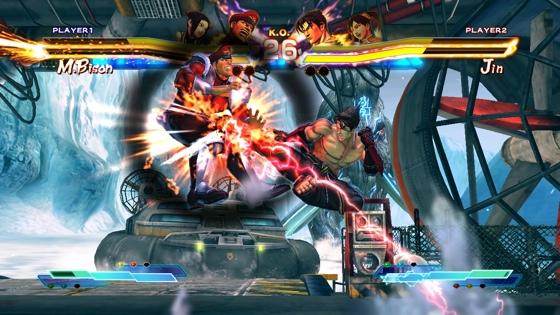 Street Fighter X Tekken Screen