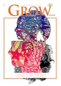 Omslag GROW magazine vol 3 Tema: Självinsikt