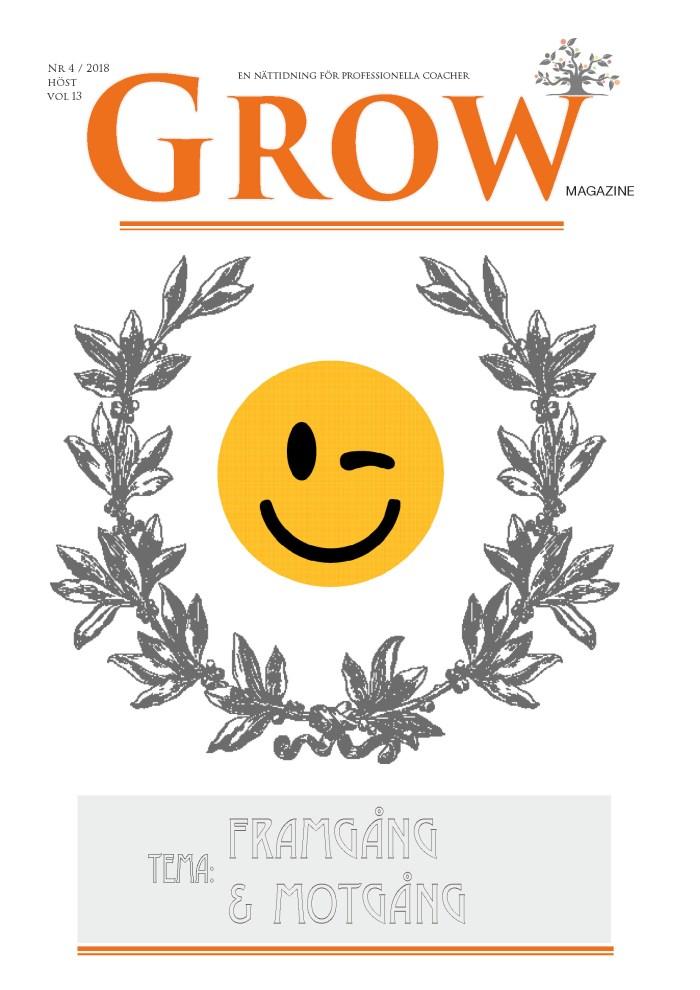 Bild: GROW magazine vol 13 - Tema: Framgång & Motgång