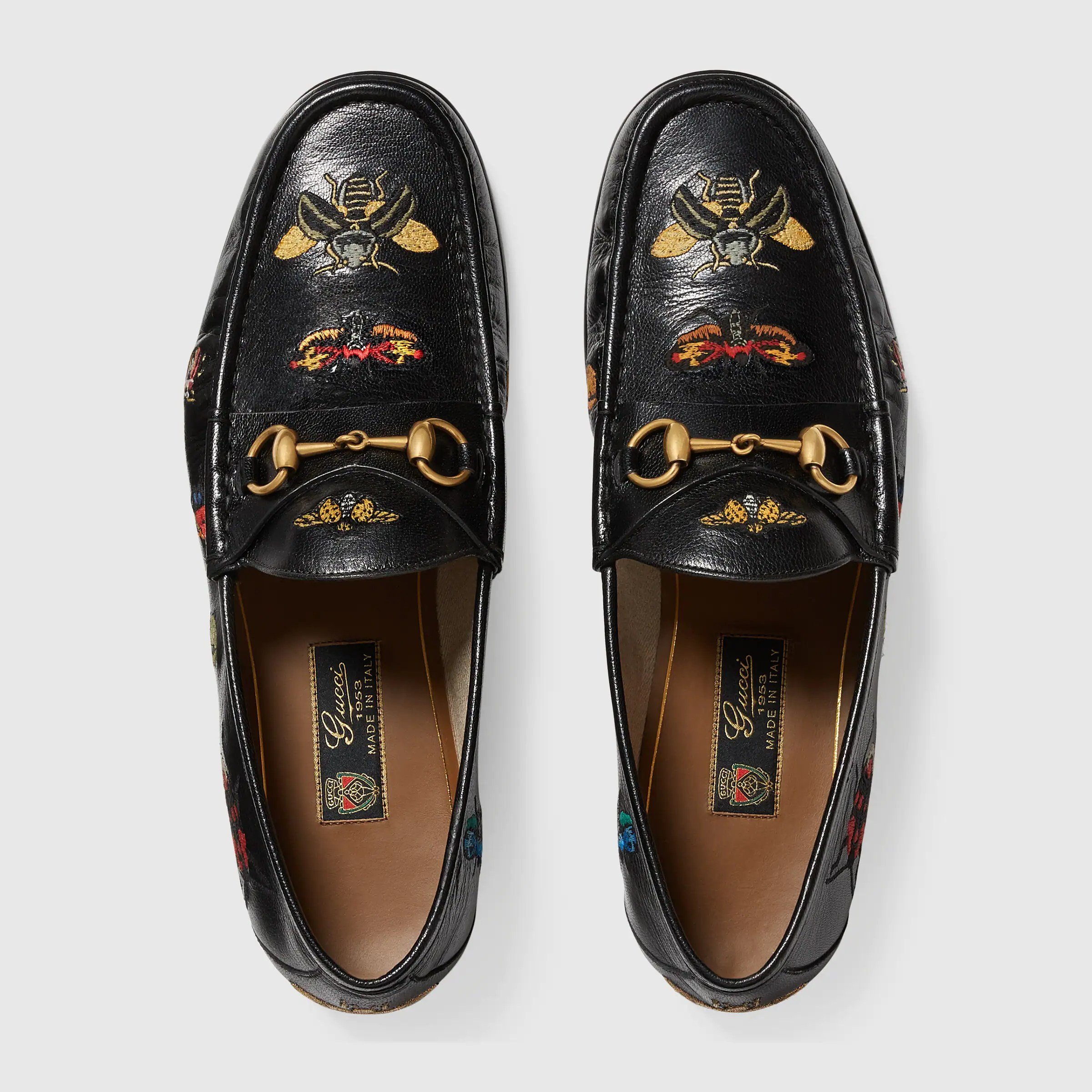 257cb90a90d Gucci Leather Horsebit Loafer In Black For Men Lyst - Modern Home ...