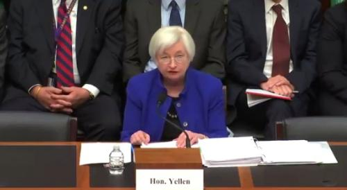 Yellen in Congress