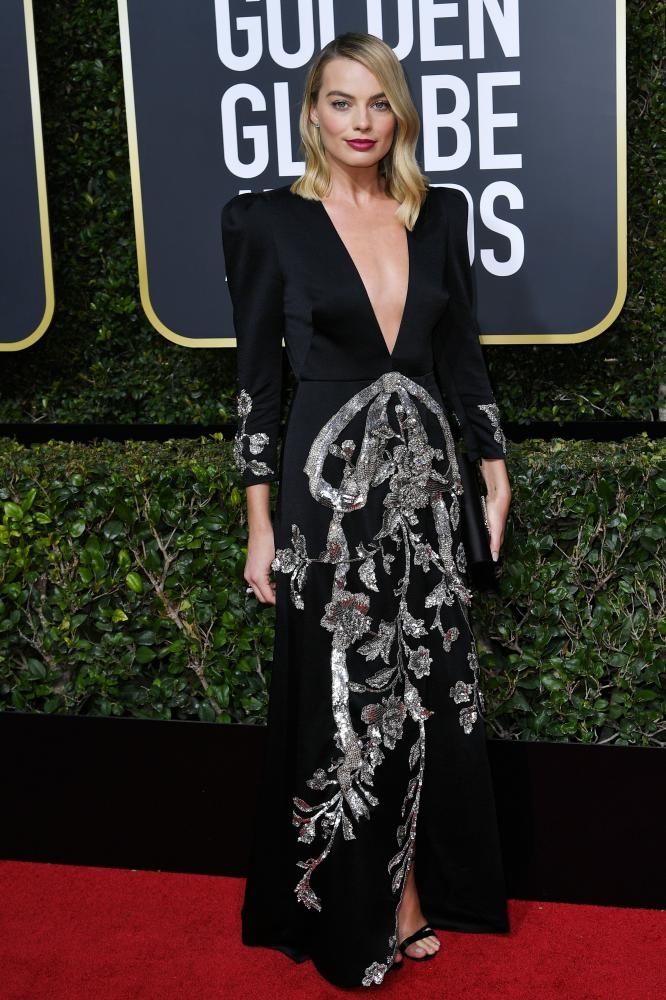 Margot Robbie 75th Annual Golden Globe Awards