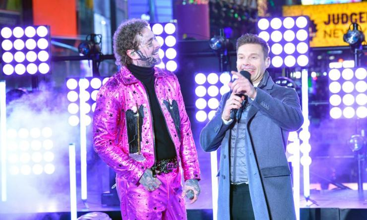 Post Malone and Ryan Seacrest.