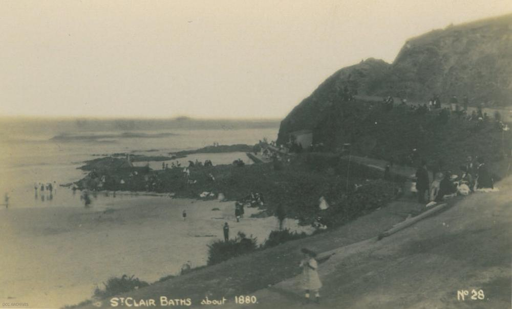 Image of St Clair Beach, Dunedin, 1912