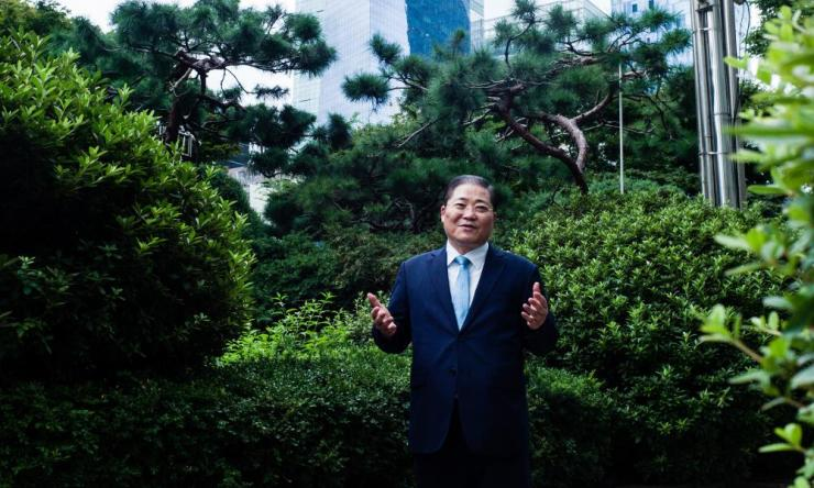 Pastor So Kang-suk, a fierce opponent of liberal sexual attitudes and LGBT rights, in Seoul.