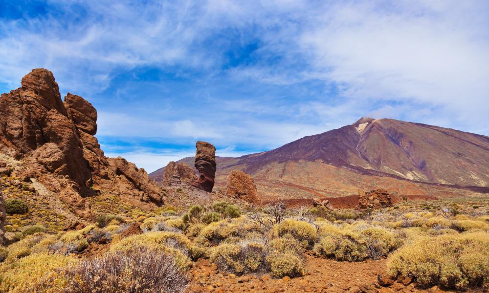 Finger Of God rock at Teide