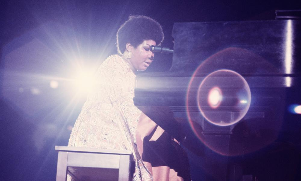 Aretha Franklin performs in New Yorkin 1969