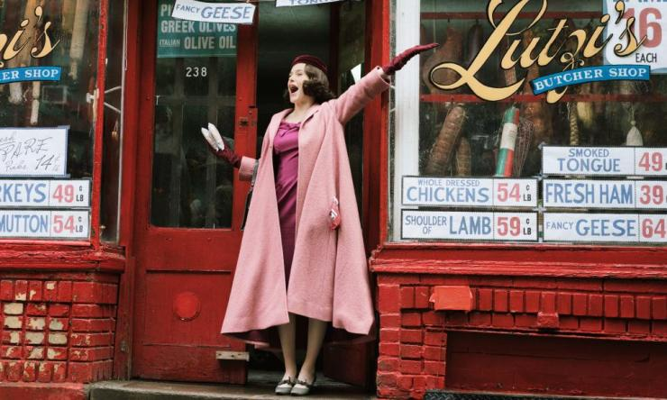 The Marvelous Mrs Maisel - Amazon press publicity