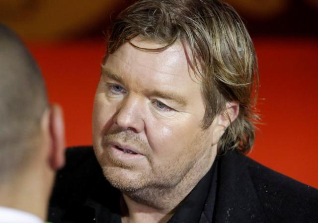Tomas Brolin at the World Cup draw