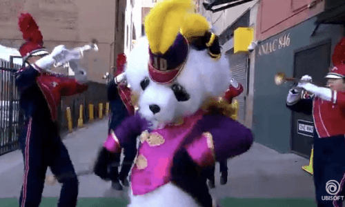 Ubisoft E3 panda