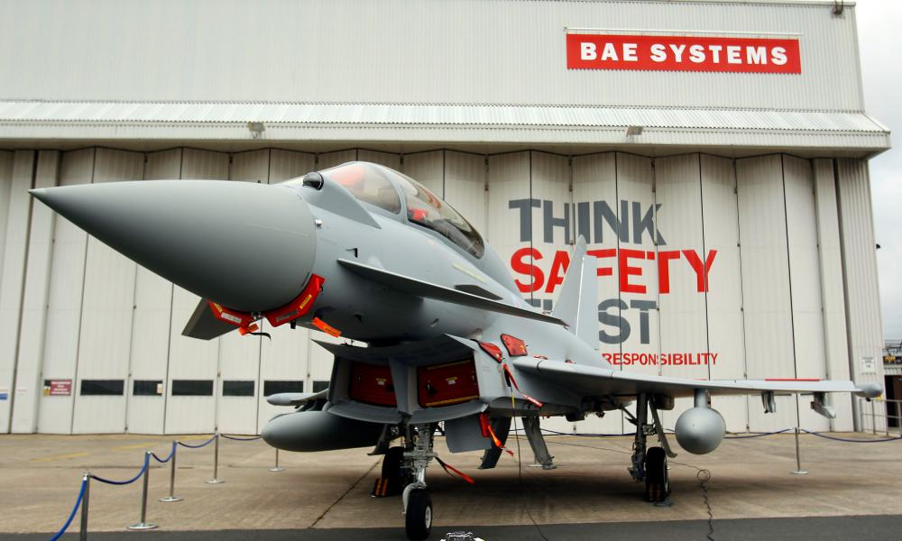 BAE Systems job cuts<br>File photo dated 07/09/12 of a Eurofighter Typhoons at BAE Systems, Warton Aerodrome, Lancashire, as up to 371 jobs are being axed at the defence giant after the group said it was slowing production of its Typhoon jet fighters. PRESS ASSOCIATION Photo. Issue date: Thursday November 12, 2015. BAE said the vast majority of the job losses would affect its 13,000-strong workforce in Samlesbury, Lancashire, although some roles will also be impacted in its Typhoon final assembly production team. See PA story CITY BAESystems. Photo credit should read: Peter Byrne/PA Wire