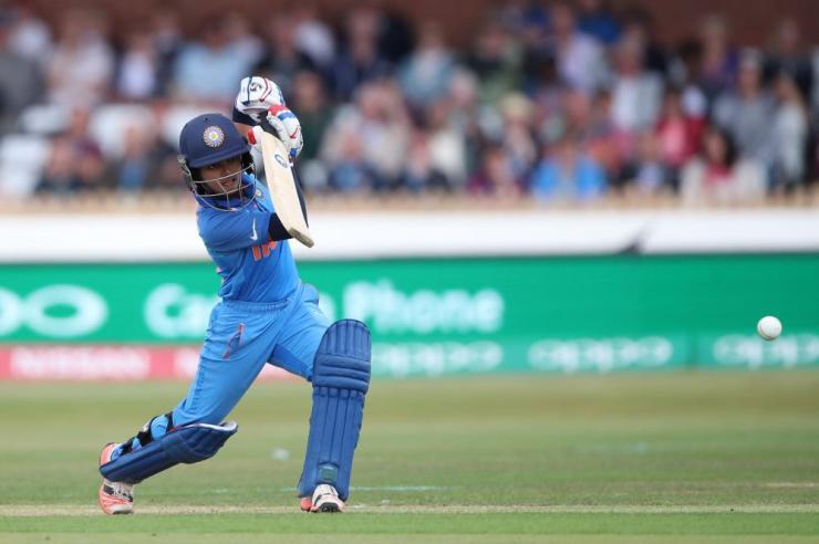 Harmanpreet Kaur brings up her 50.