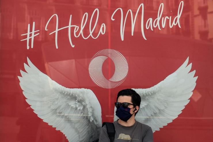 Madrid moved to make mask-wearing obligatory at all times in public as Spain grappled with the fallout from a surge in virus cases that has triggered several international travel warnings.