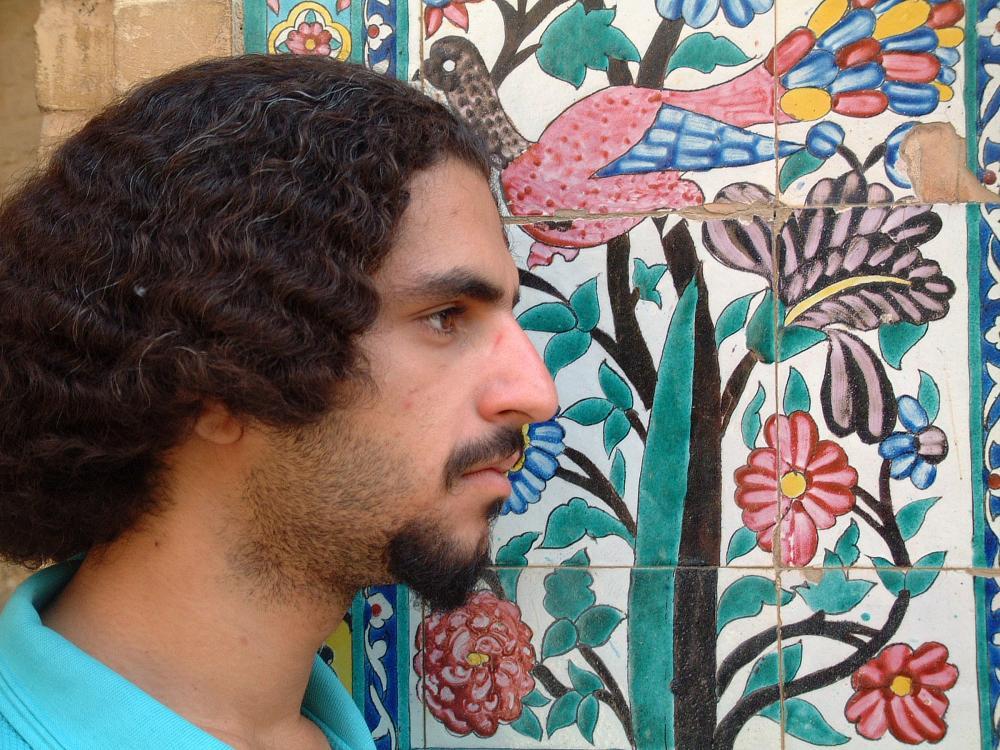 Iran. Isfahan. Young man