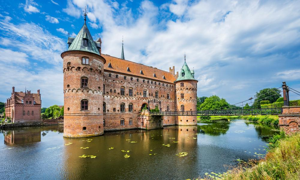 Egeskov Castle on the island of Funen