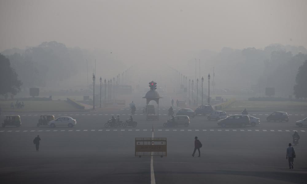 Pollution in New Delhi, India, last November