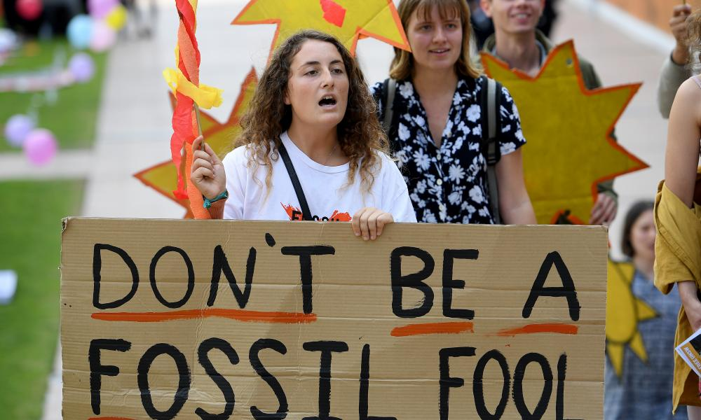 Students in Australia call for their university to divest.