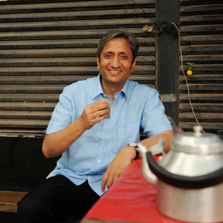 Prime Time host Ravish Kumar