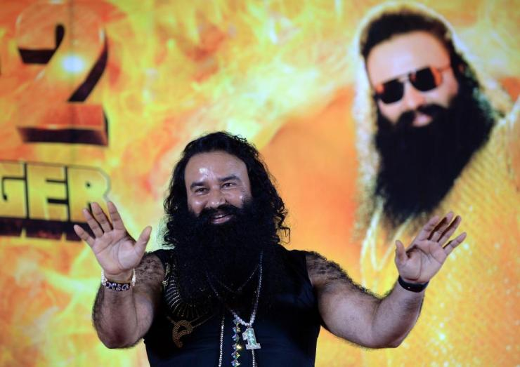 Ram Rahim Singh, leader of the Dera Sacha Sauda sect.