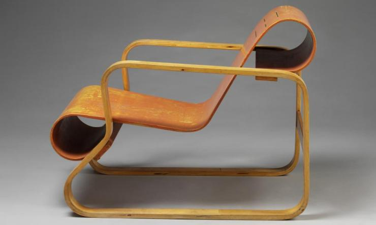 Alvar Aalto armchair design, 1930.