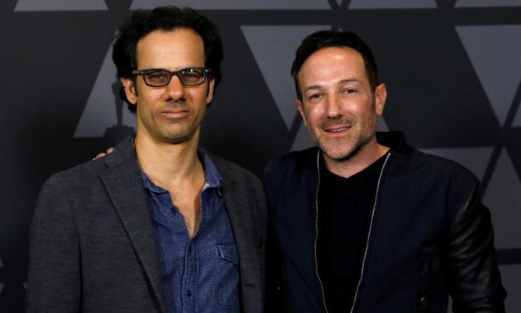 Bryan Fogel and Dan Cogan, who made Icarus.