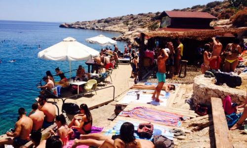 Limanakia Beach Bar, Vouliagmenis, Attica,