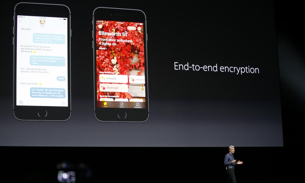 Apple says its messages app will continue to offer end-to-end encryption by default.