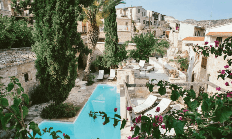 Private paradise: the pool at Modus Vivendi, Cyprus