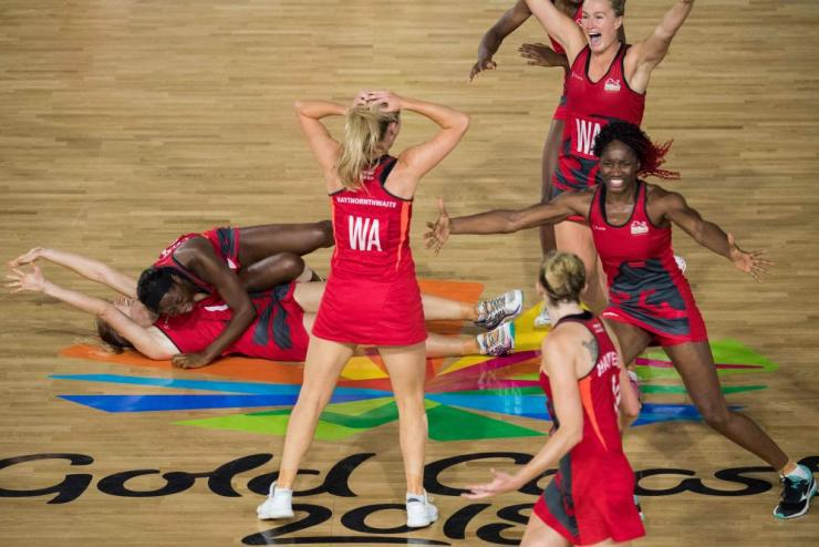 The Commonwealth Games action has concluded on a day England's netballers stole the show with a last gasp gold medal.