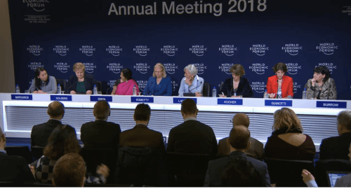 WEF opening press conference