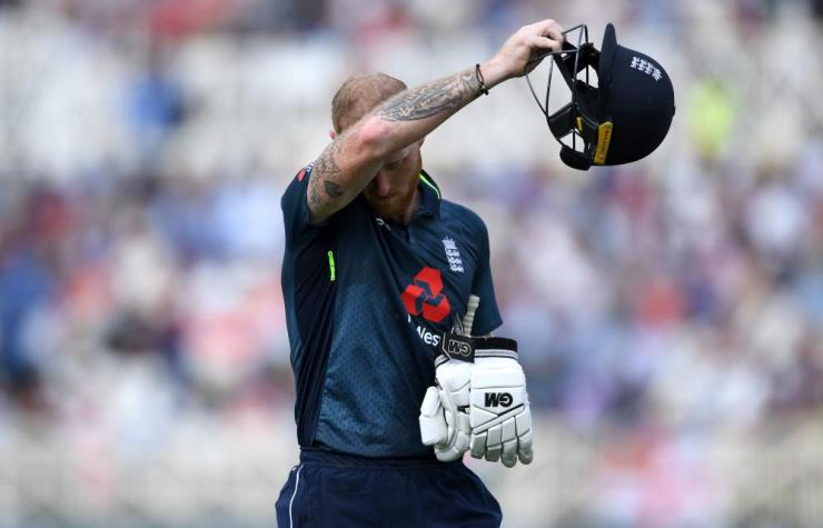 Stokes, not happy with that.